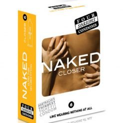 Four Seasons Naked Closer Condoms 6 Pack