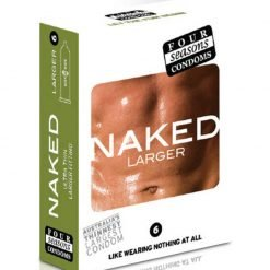 Four Seasons Naked Larger Condoms 6 Pack