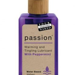 Four Seasons Lubricant 200ml Passion Peppermint