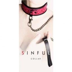 Sinful Pink Collar