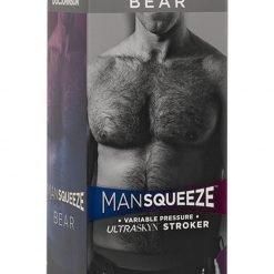 Man Squeeze Bear Ass