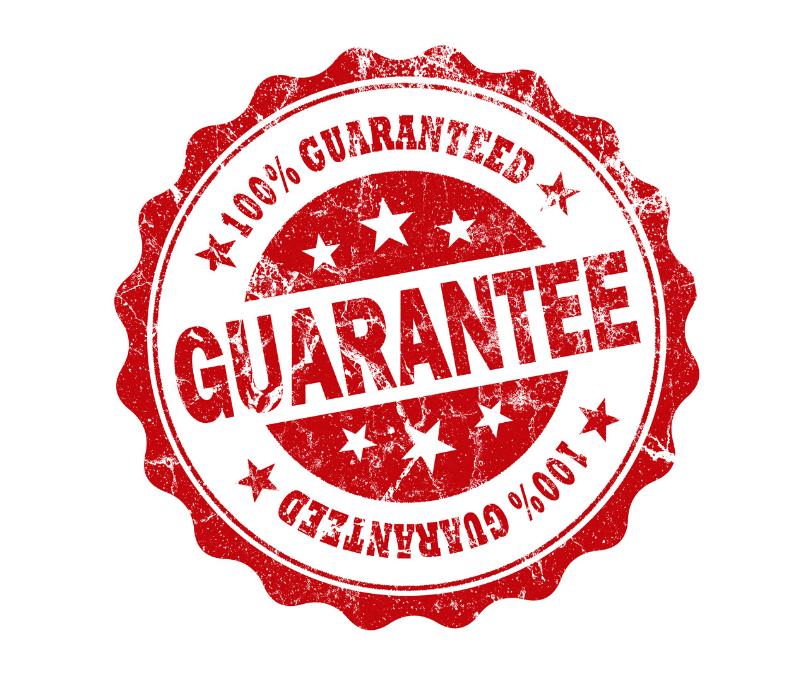 Our Customer Guarantees