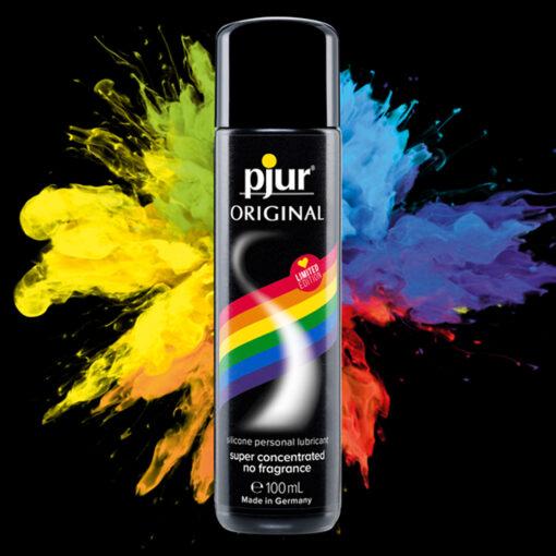 Pjur Original Lubricant Rainbow Edition