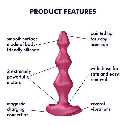 Lolli Plug 1 Anal Plug Vibrator By Satisfyer Berry