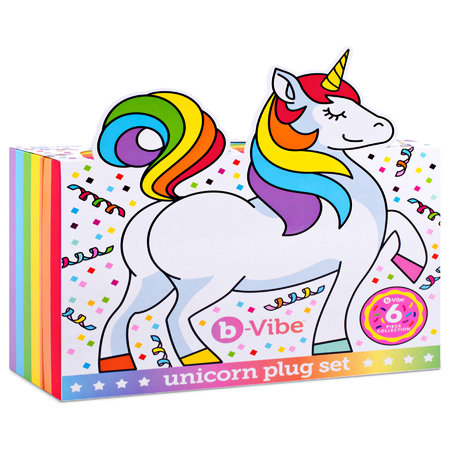 b-Vibe Unicorn Plug Set